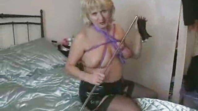 - آلن سوپر گروه سکسی کریستار مقعد را امتحان می کند